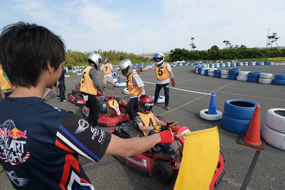 Ke-CUPの決勝レース中のドライバー交代