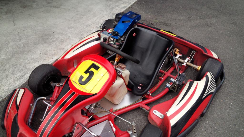 フェスティカサーキット栃木で開催されたGreenBrave耐久シリーズで使用されるレンタルカート