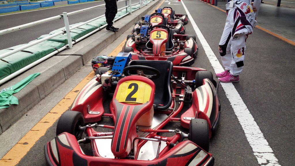 フェスティカサーキット栃木で開催されたFEC、今回は寂しいエントリー4台・・・