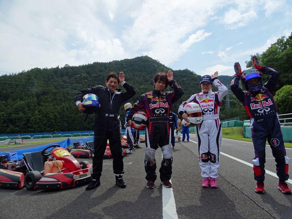 私の所属チーム 「うさぎちゃんレーシング」