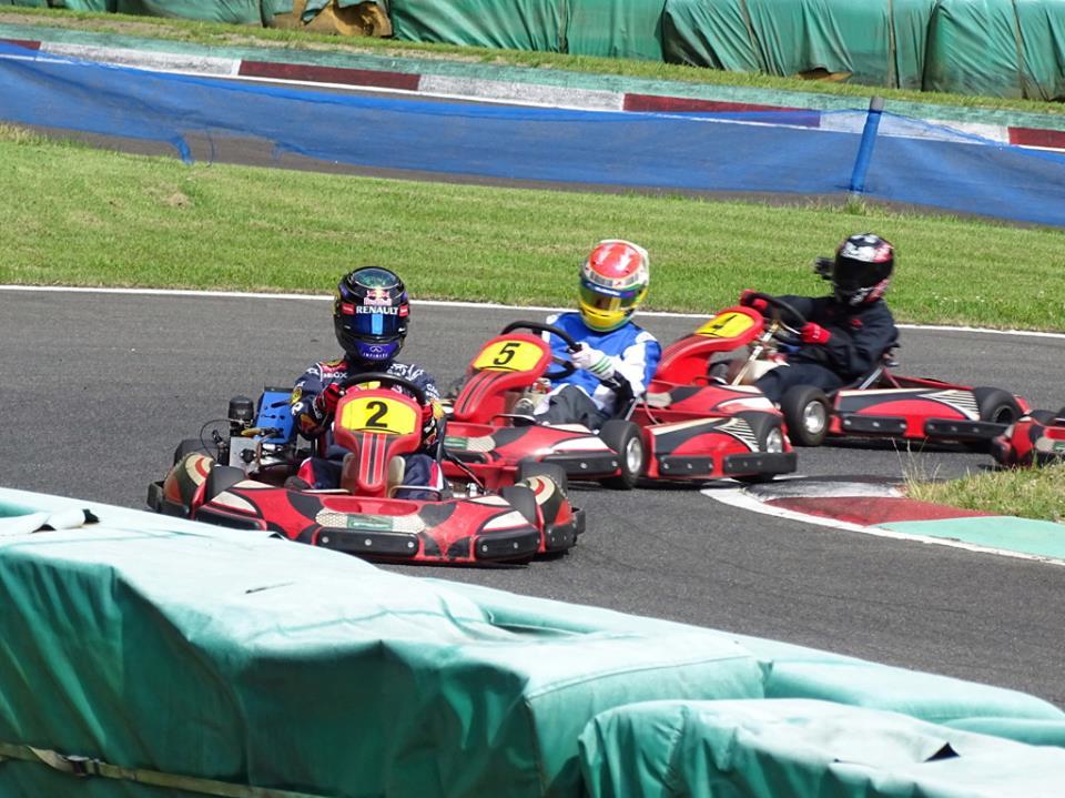 フェスティカサーキット栃木で開催されたFECの決勝レース