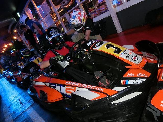 SWSハーバー耐久CUPのスタート前