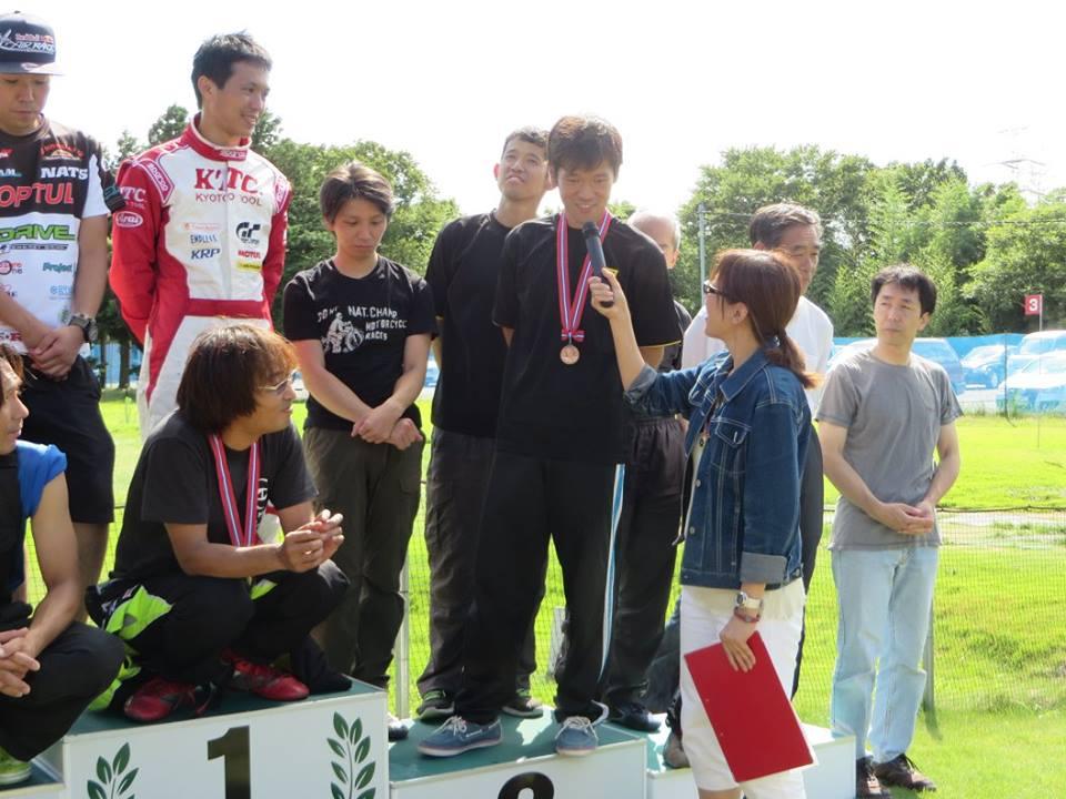 NEO ADVAN CUPの表彰式