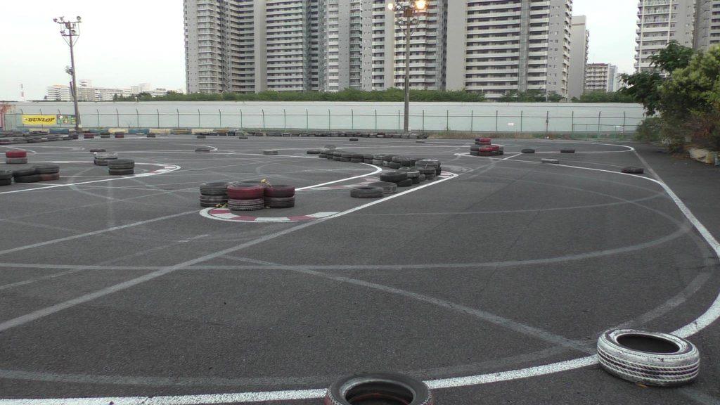 シティカートの6コーナーから7コーナーの写真