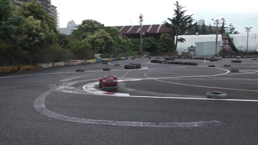 シティカートの第4コーナーから見た5、6コーナー風景