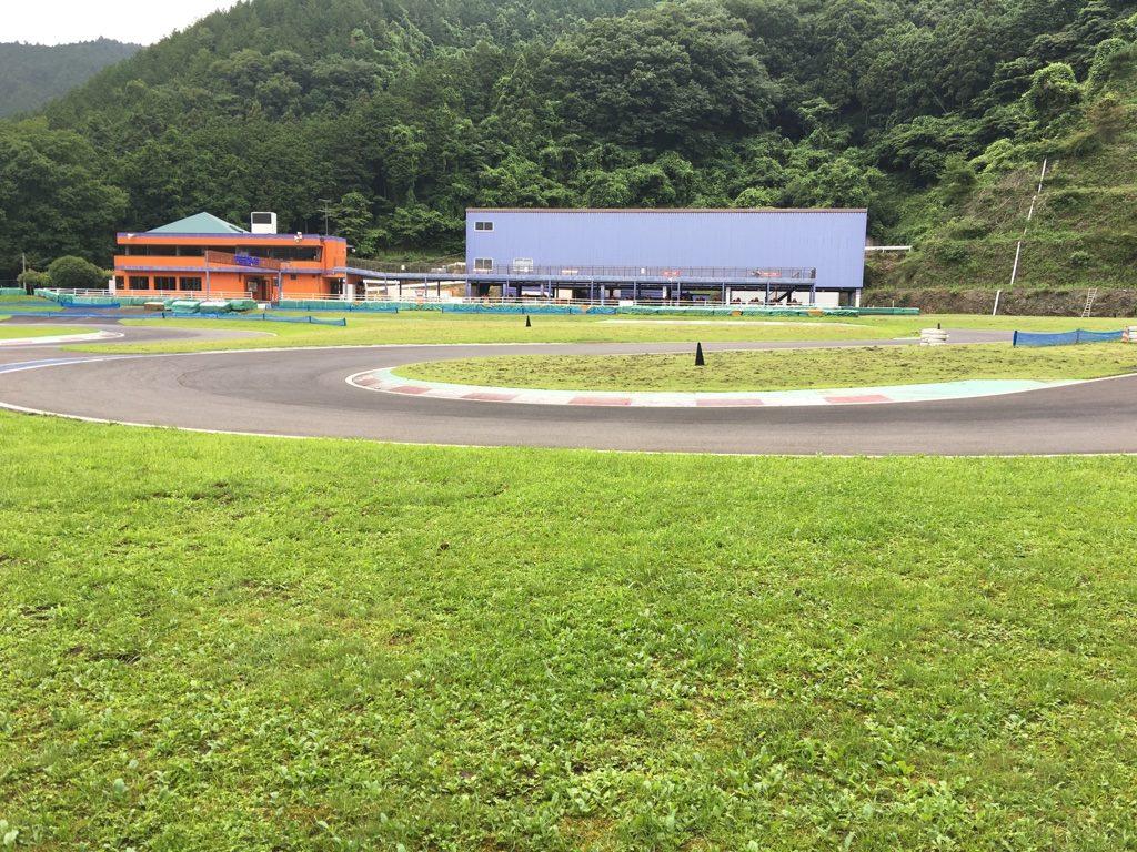 フェスティカサーキット栃木の第2コーナー