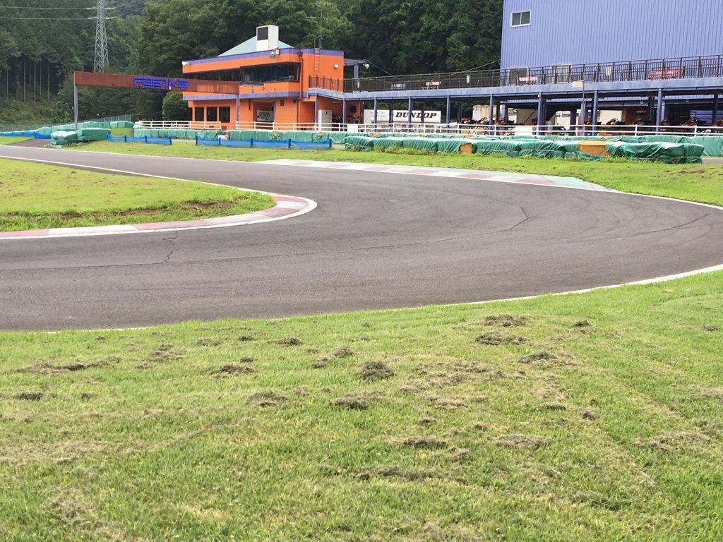 フェスティカサーキット栃木の第3コーナー