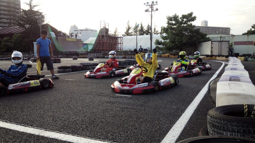 CKCUPの耐久レースのスタート