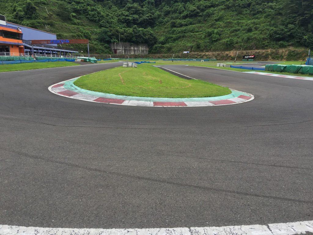フェスティカサーキット栃木の第4コーナー
