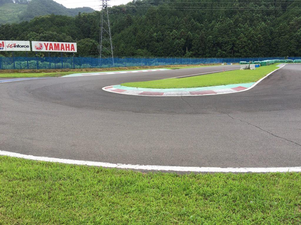 フェスティカサーキット栃木の第5コーナー