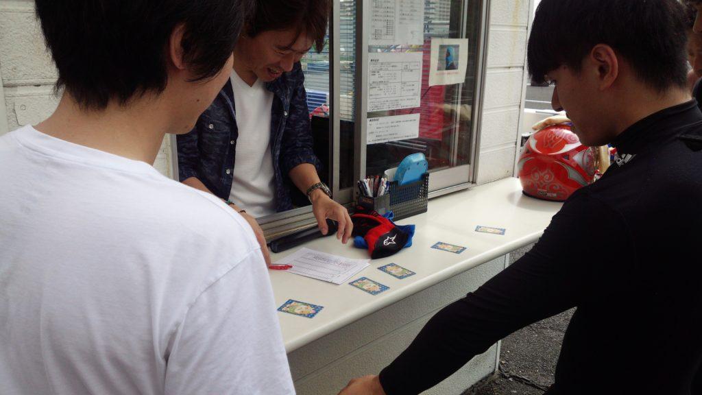 CITYKART CUP チャレンジクラスくじ引き