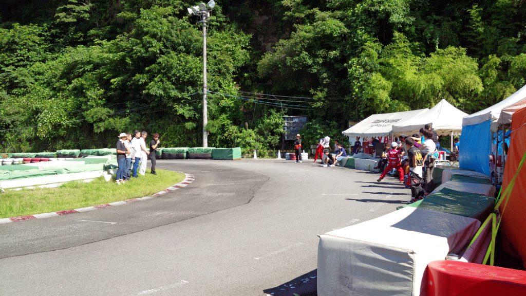 大井松田チャレンジカップのドライバーズブリーフィング