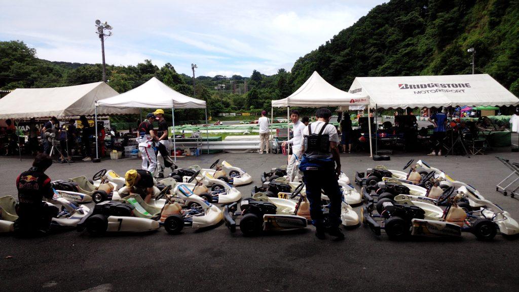大井松田チャレンジカップのT4クラスのレンタルカート