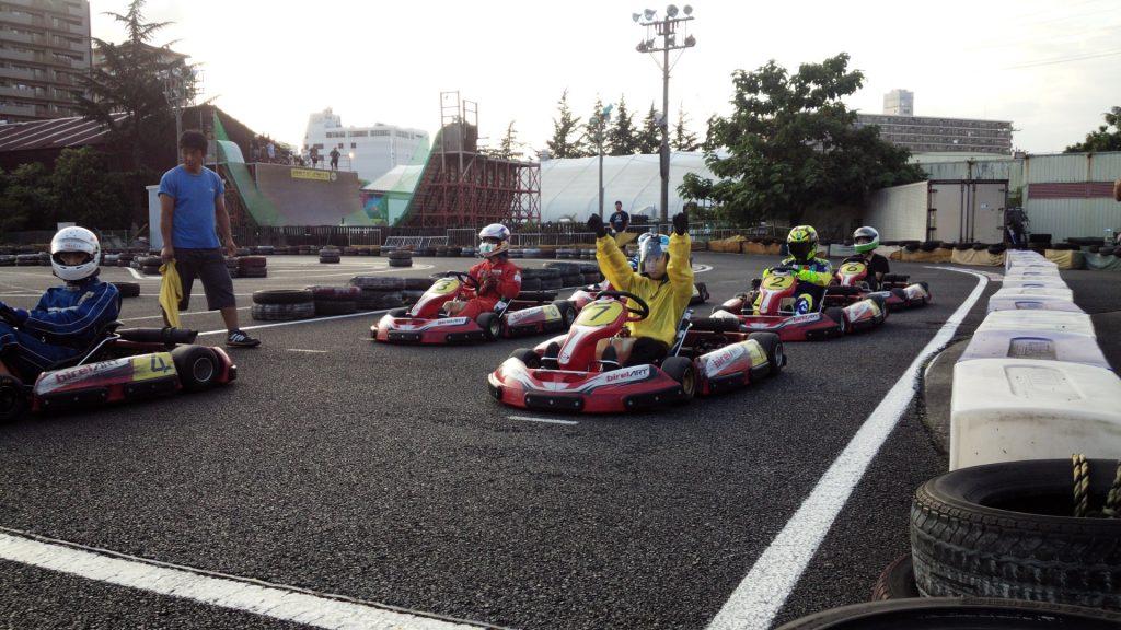 シティカートカップの60分耐久レース A組