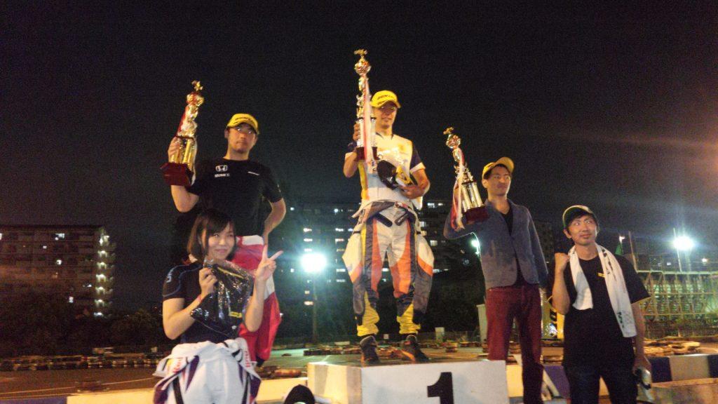 第70回CITYKART CUPチャレンジクラス表彰式