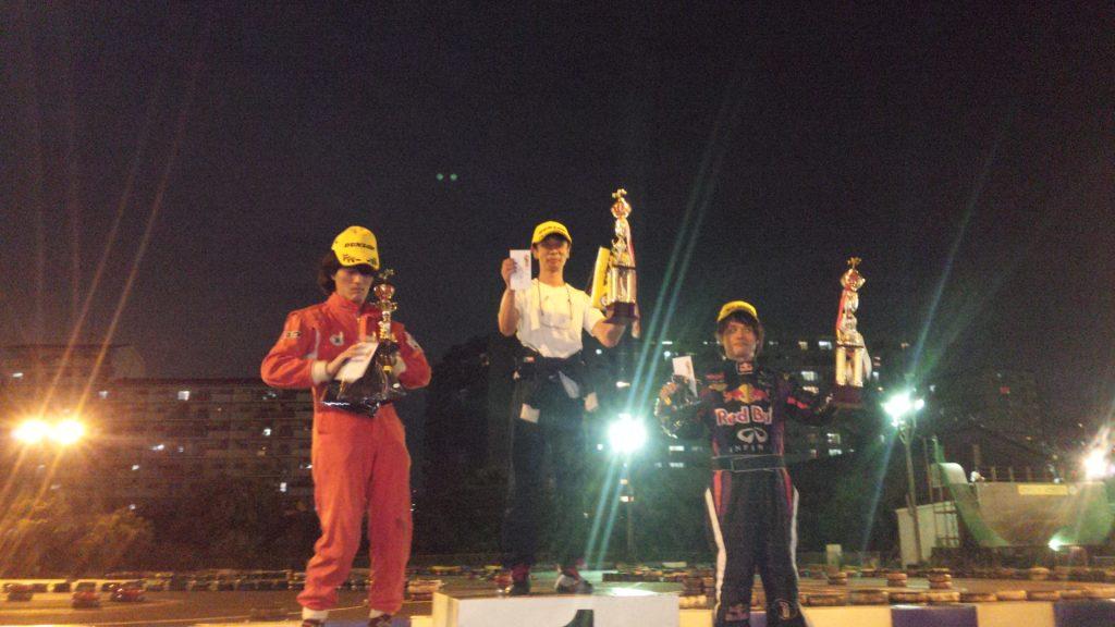第70回CITYKART CUPチャンピオンクラスの表彰式