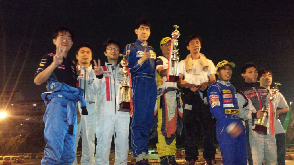 第70回CITYKART CUP 1時間耐久レースの表彰式