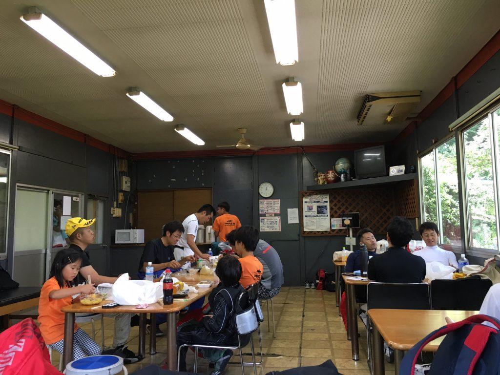 大井松田チャレンジカップのお昼休みの様子
