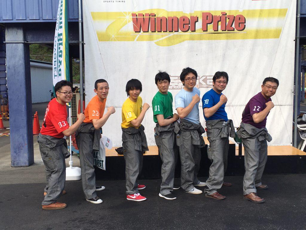 フェスティカサーキット栃木で開催されたGreenBrave耐久レースに参加する仲良しチーム
