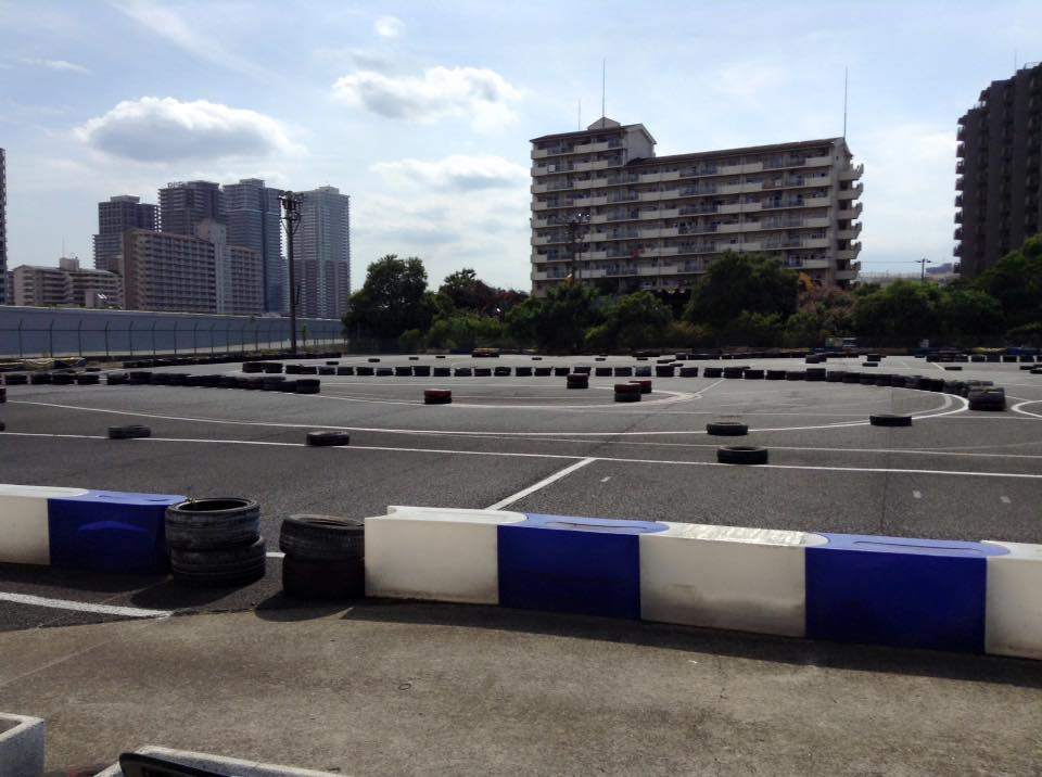 シティカートスーパーバトルの会場になった東京にあるシティカート