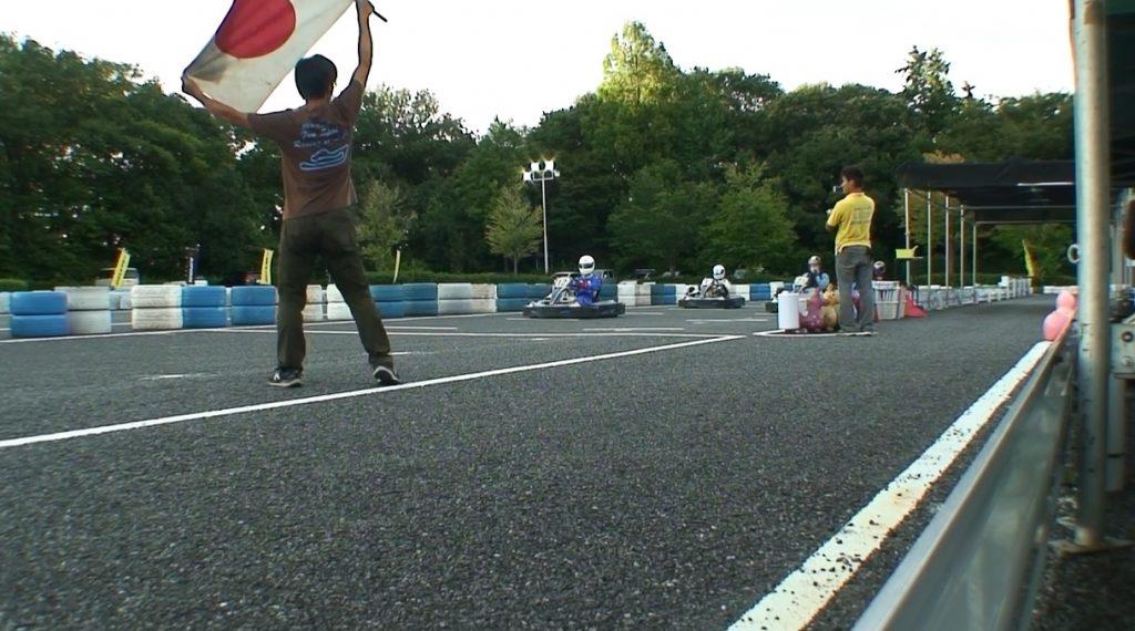本庄サーキット杯60分耐久の決勝レーススタート