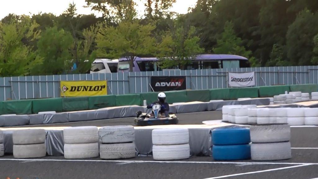 本庄サーキット杯60分耐久の決勝レースの様子