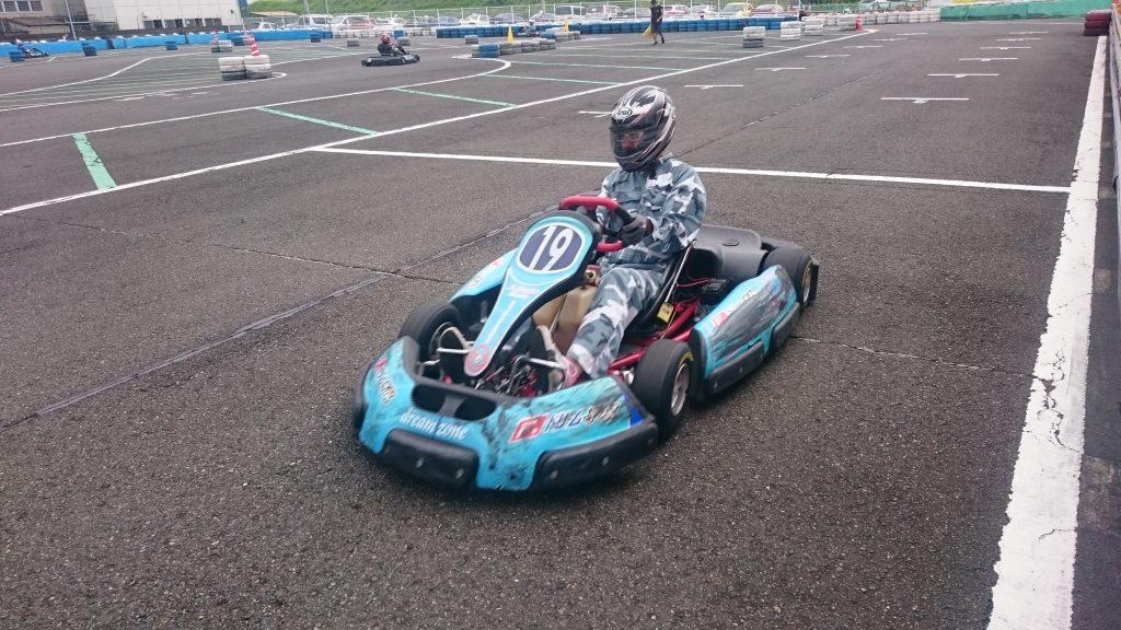 F.ドリーム平塚のフレンドリー耐久の予選の様子