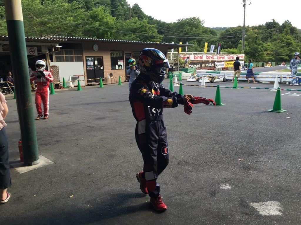 大井松田レンタルフェスタの決勝ドライバー交代