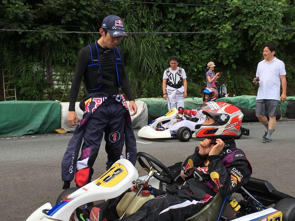 大井松田レンタルフェスタファミ耐60の決勝スタート前