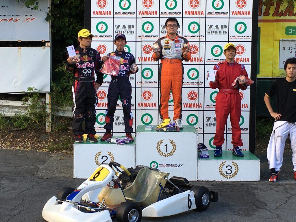 大井松田レンタルフェスタファミ耐60の表彰式