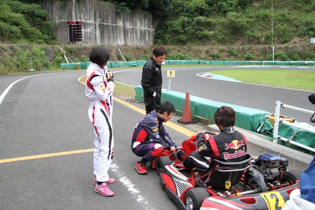 フェスティカ栃木FECの練習スタート前