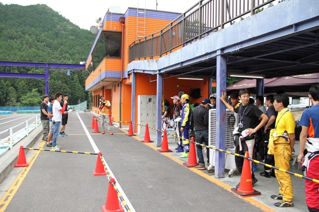 フェスティカサーキット栃木にて開催されたFECのブリーフィング