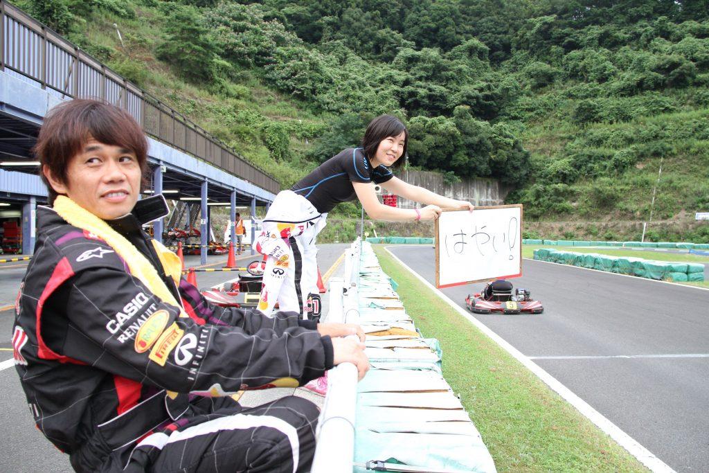 フェスティカサーキット栃木にて開催されたFECの決勝中の様子