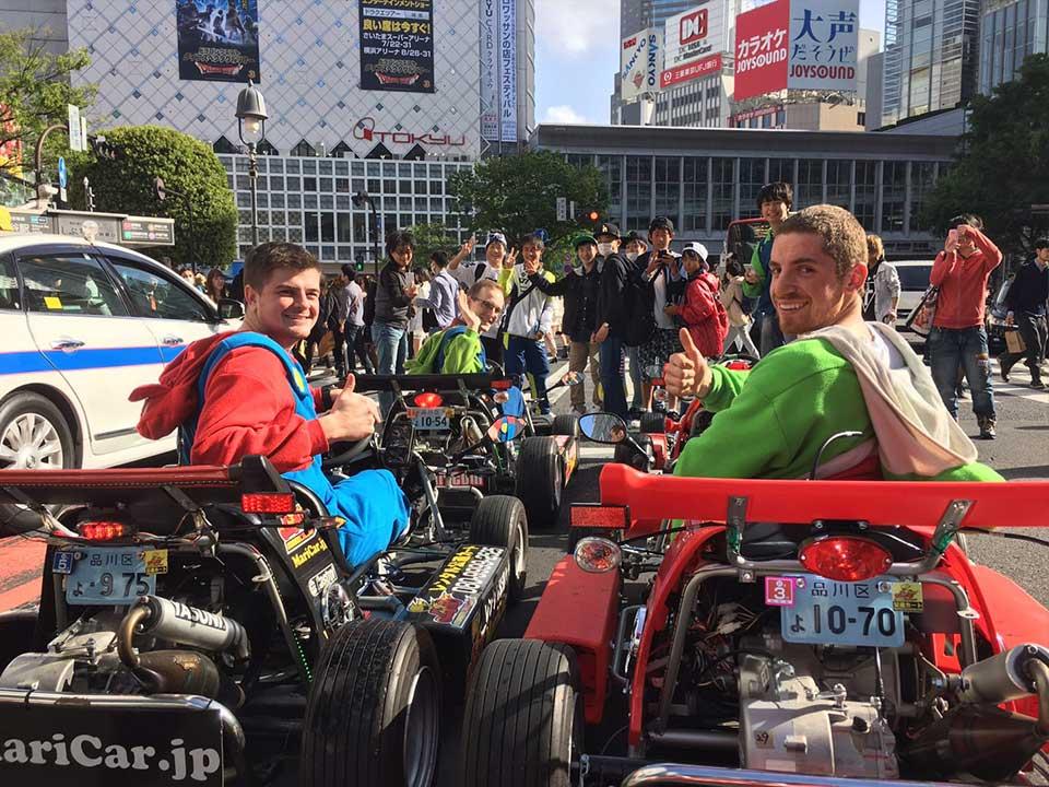 東京のマリカー体験