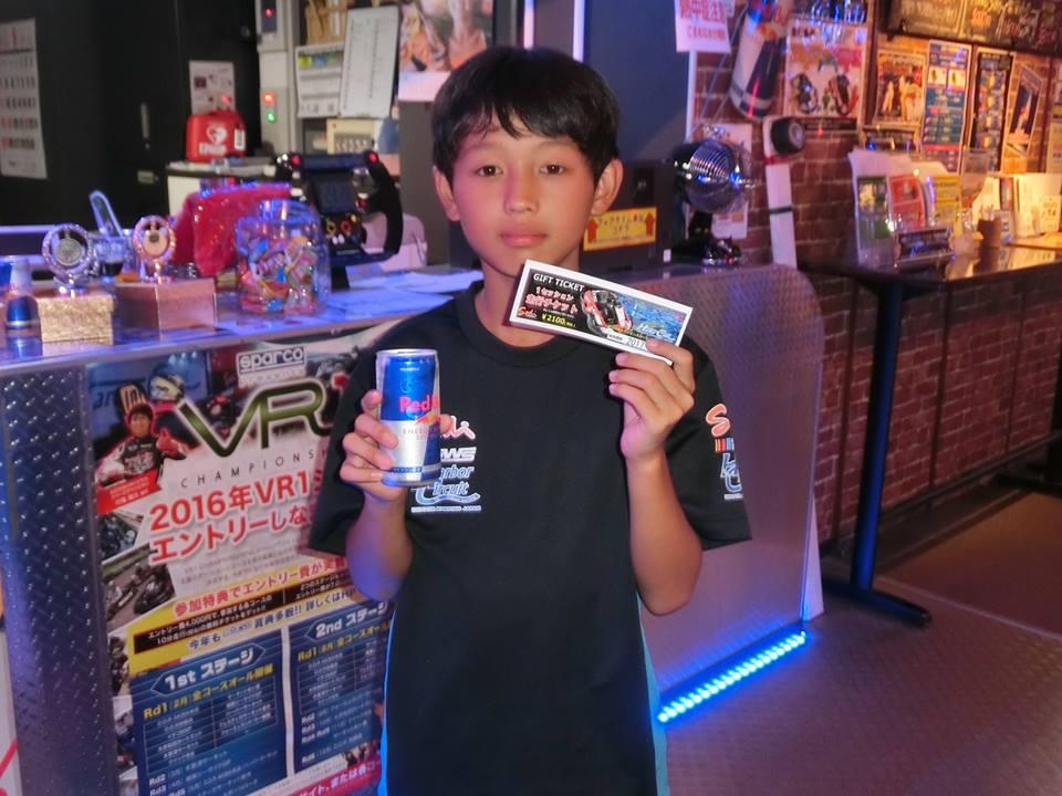 ジャパンカートベストタイムランキングの表彰の様子