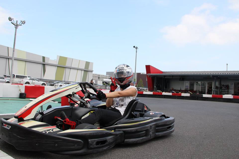 レース初参加のクロネコさん@木更津サーキット