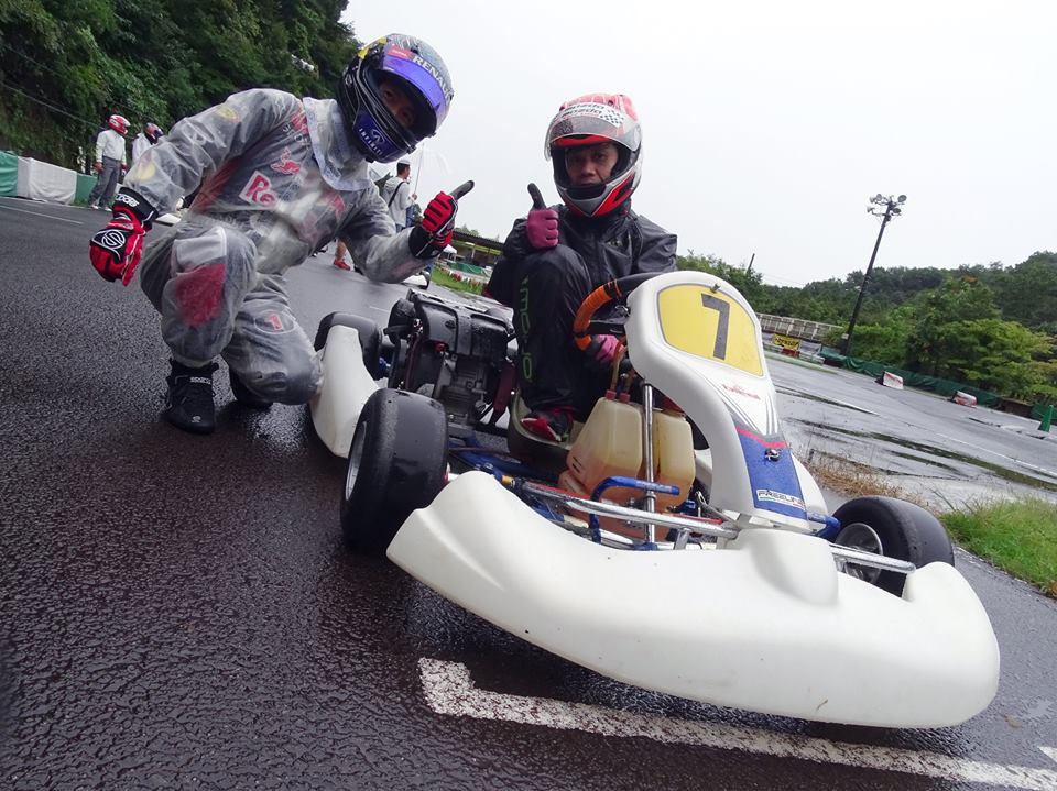 大井松田レンタルフェスタRd.5雨のグリッド