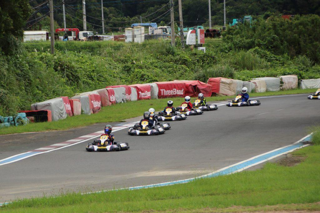 RBKF二次予選Aクラス予選ヒート1周目の6コーナー