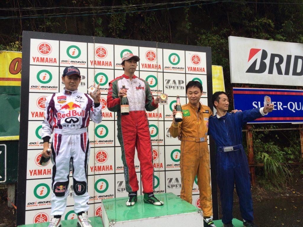 大井松田レンタルフェスタRd.5ファミ耐40表彰式