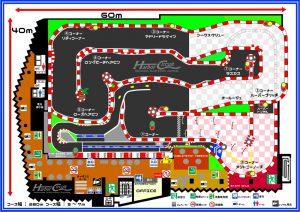 ハーバーサーキットのレイアウト図