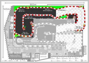 ハーバーサーキットのコース図