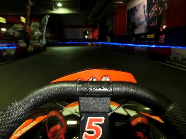 ハーバーサーキットのマドリードシケイン