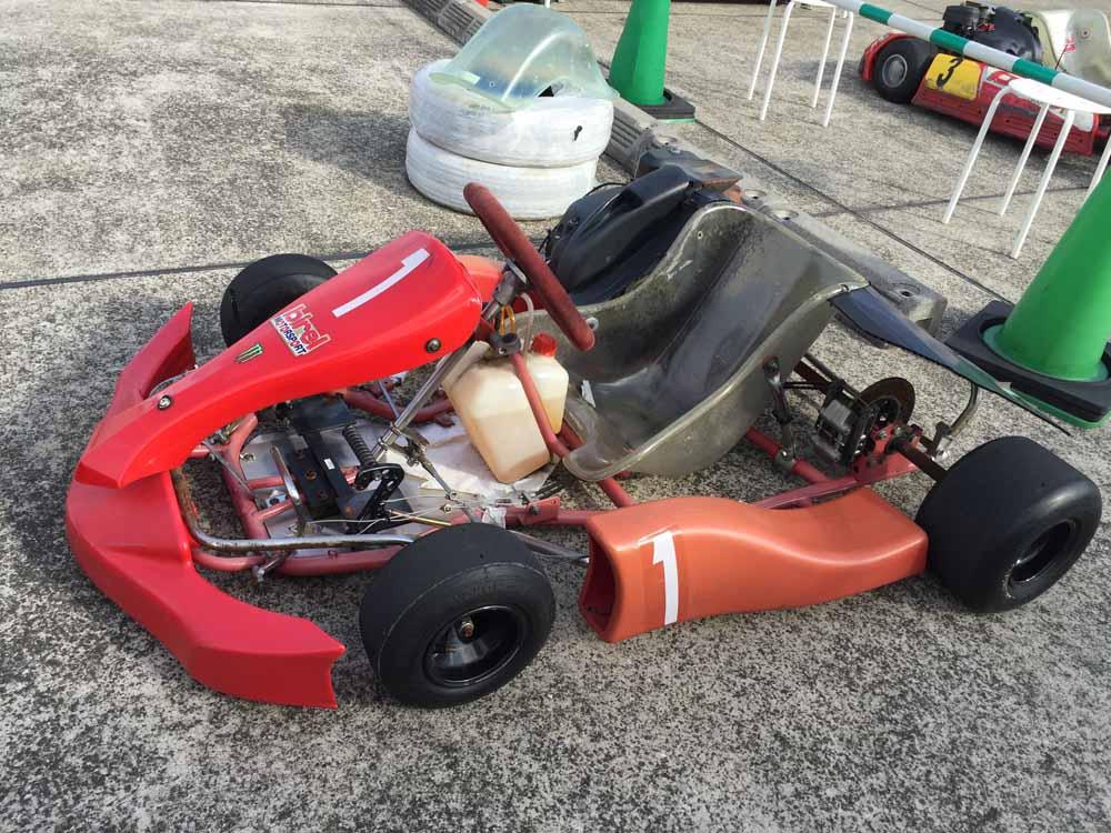 サーキットがやってくる!横浜GPのこども用のカート