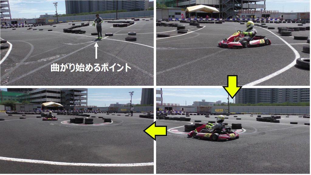 シティカート12コーナーの実写走行説明