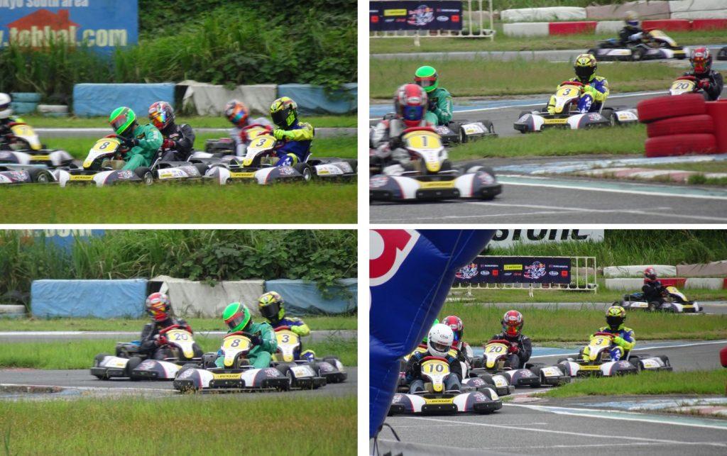 予選レース中盤