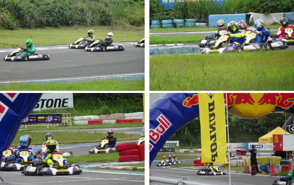 予選レース終盤