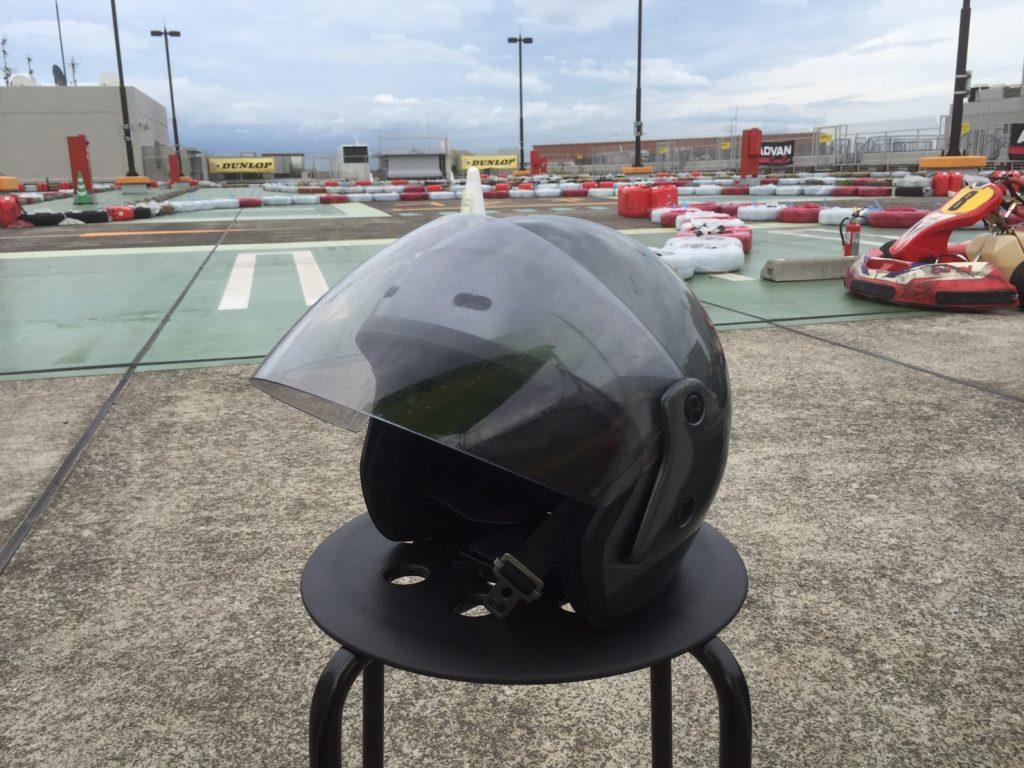 サーキットがやってくる!横浜GPのヘルメット