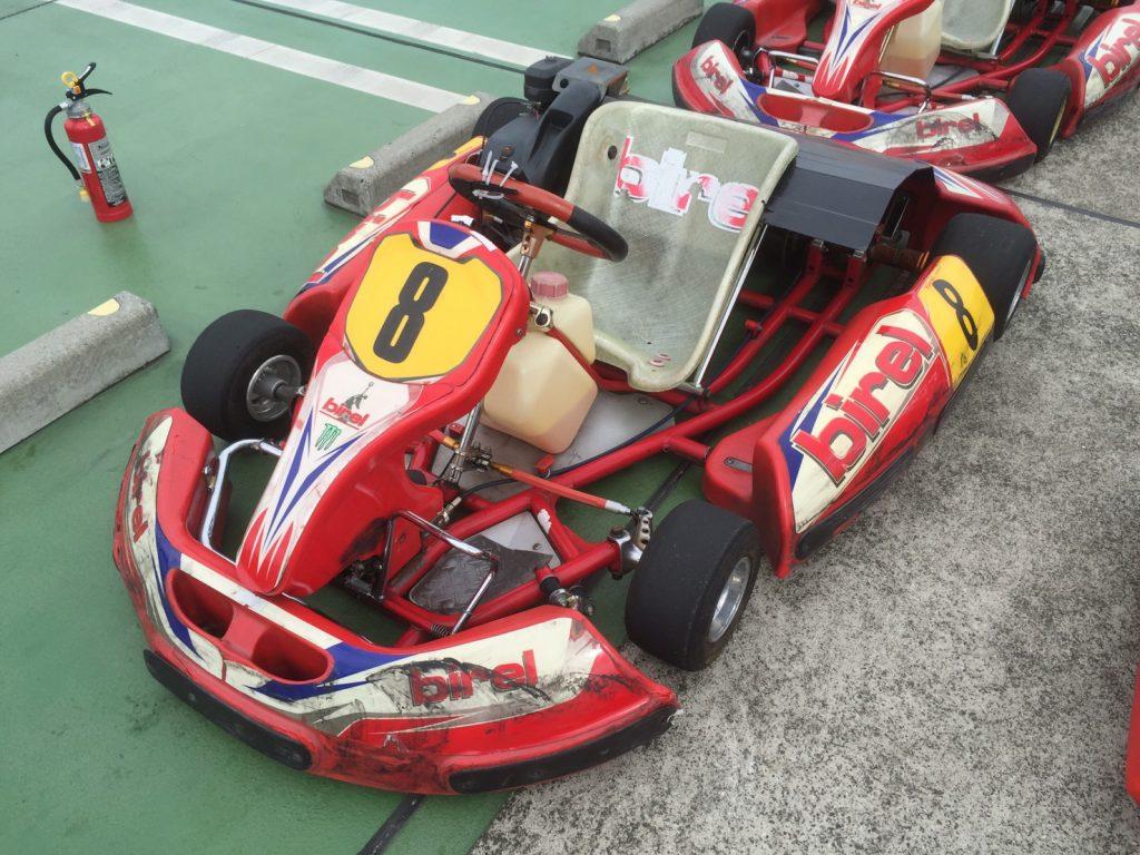 サーキットがやってくる!横浜GPの1人乗りのカート