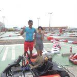 サーキットがやってくる!横浜GPで走っていたカップル