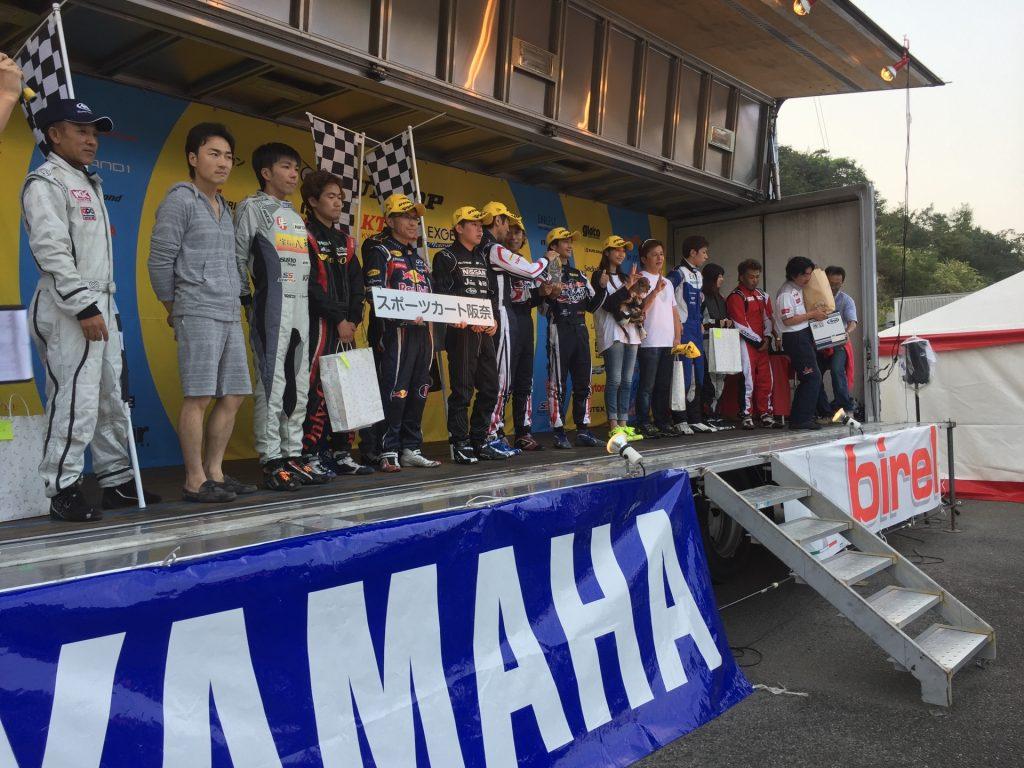 2016ビレルN35日本一決定戦の表彰式